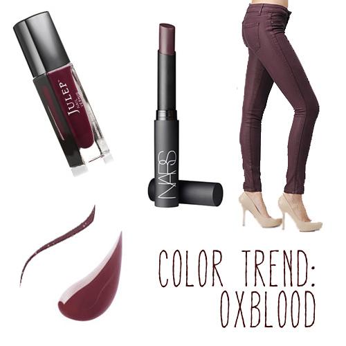 Sharon Becker SB Beauty in Oxblood Jacket