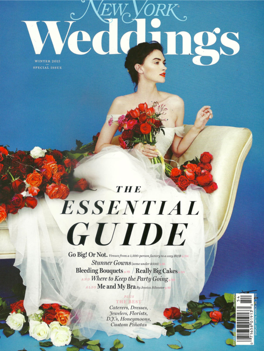 NY Magazine Weddings 2014