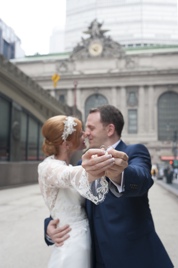 NYC elopement makeup and hair by Sharon Becker