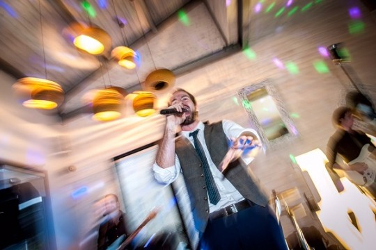 """We found Agent Smith through an online search for rock and pop wedding bands. They played a mixture of new and older classic hits and they were amazing! Music is another of our passions and we wanted our guests to have a memorable experience at our party and most importantly get up & dance."""