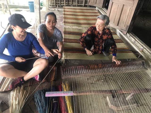 rattan weavers in Vietnam