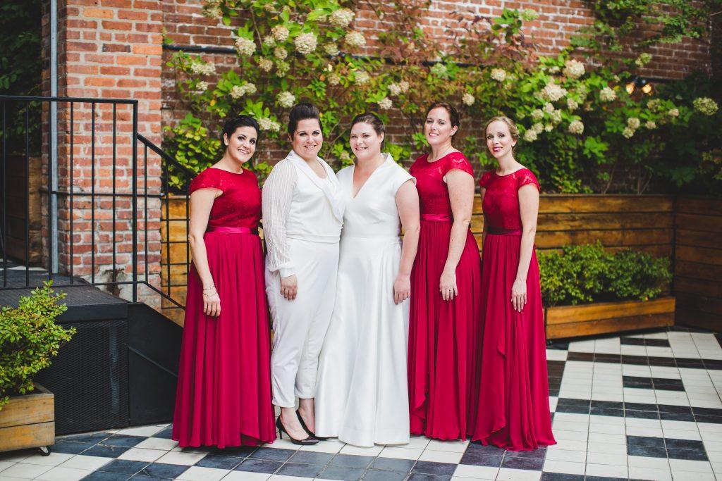 Ashley, Amanda and Bridesmaids