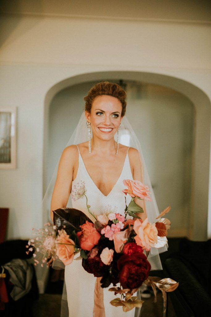 Liz bridal portrait
