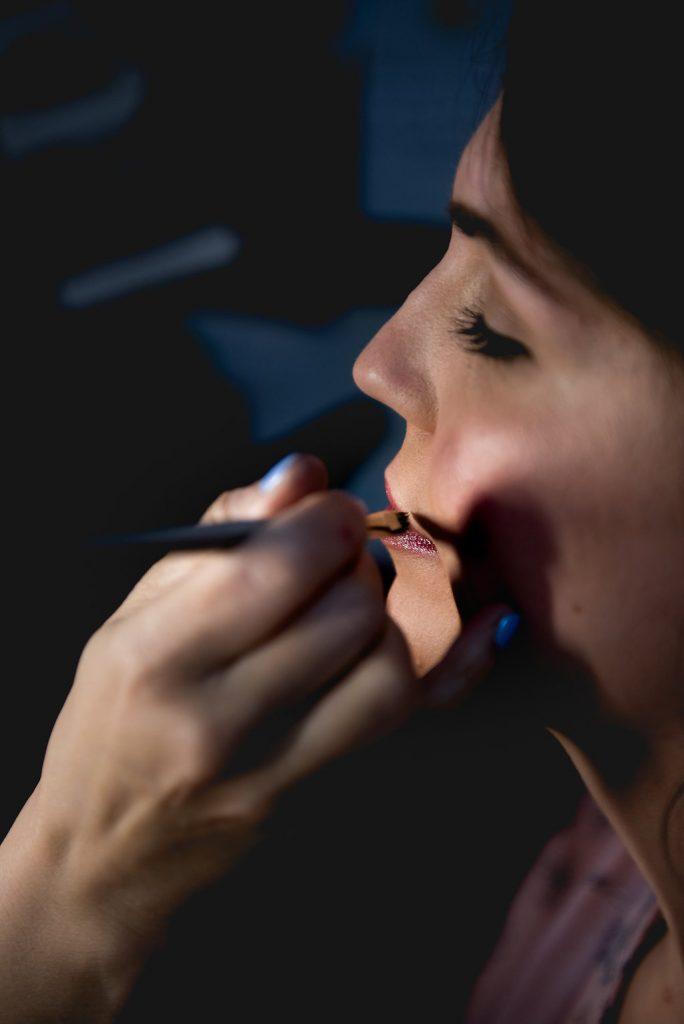 Bridal makeup WIP