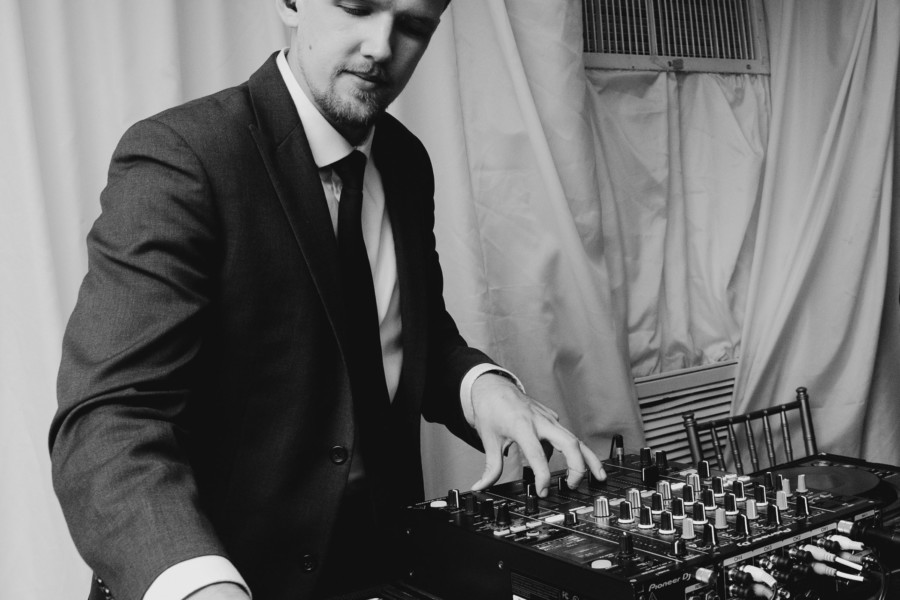 DJ Cool Hand at the decks