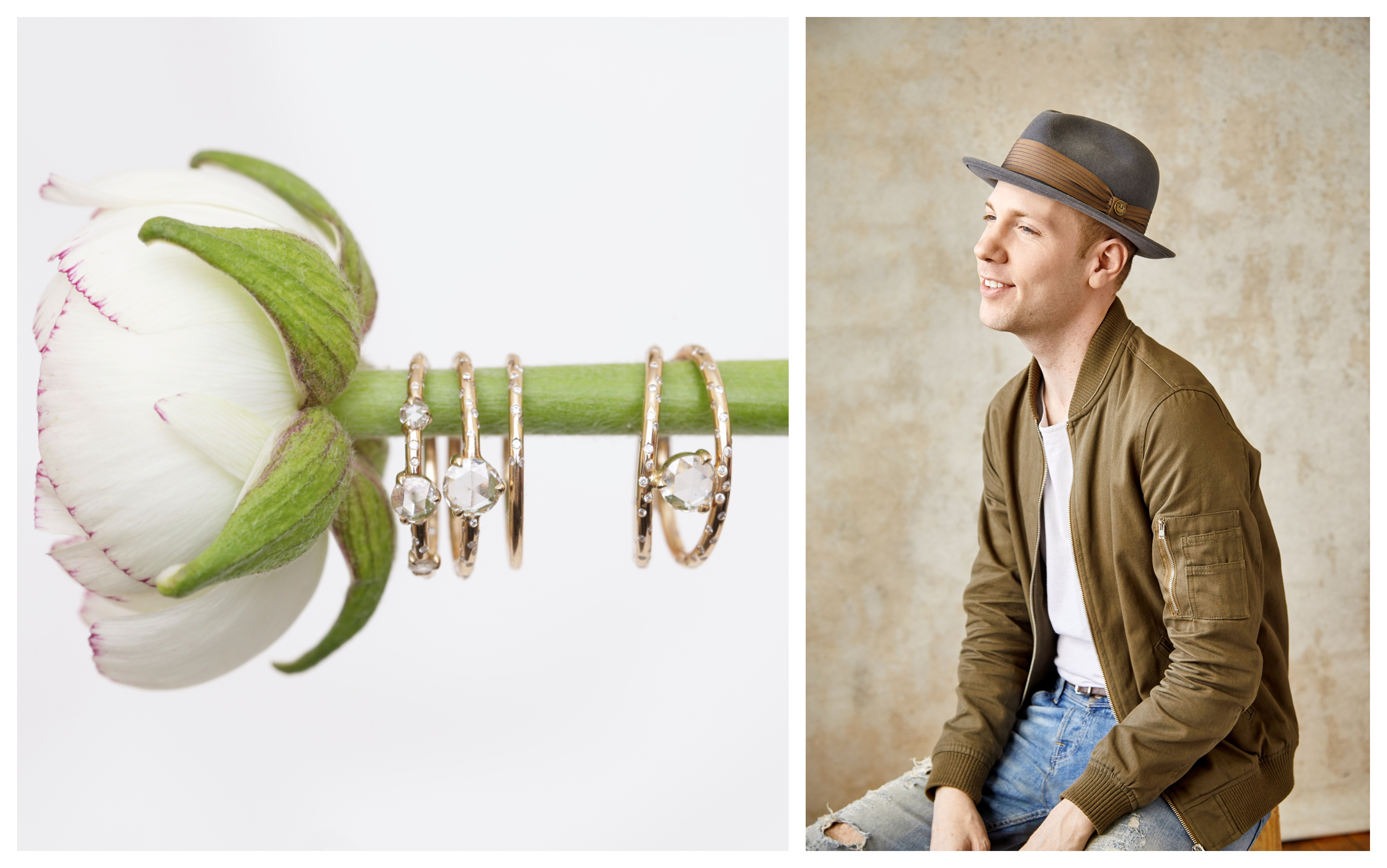Michael Dobkin of Rosey West and his jewelry designs