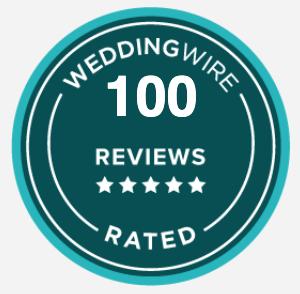 weddingwire 100 reviews