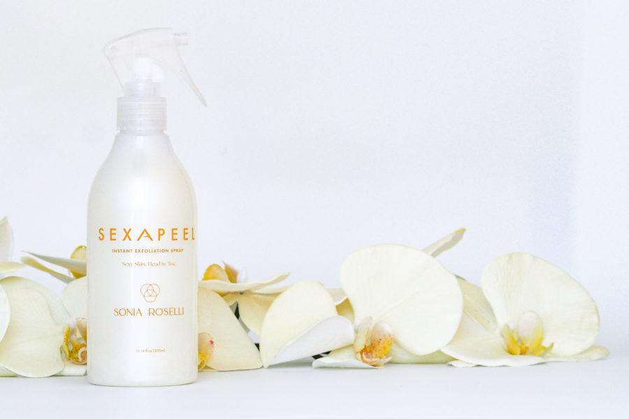 Sonia Roselli Sexapeel exfoliant bottle