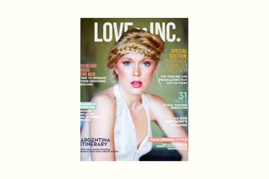 Love Inc Magazine cover