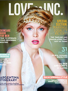 Love Ince Magazine cover